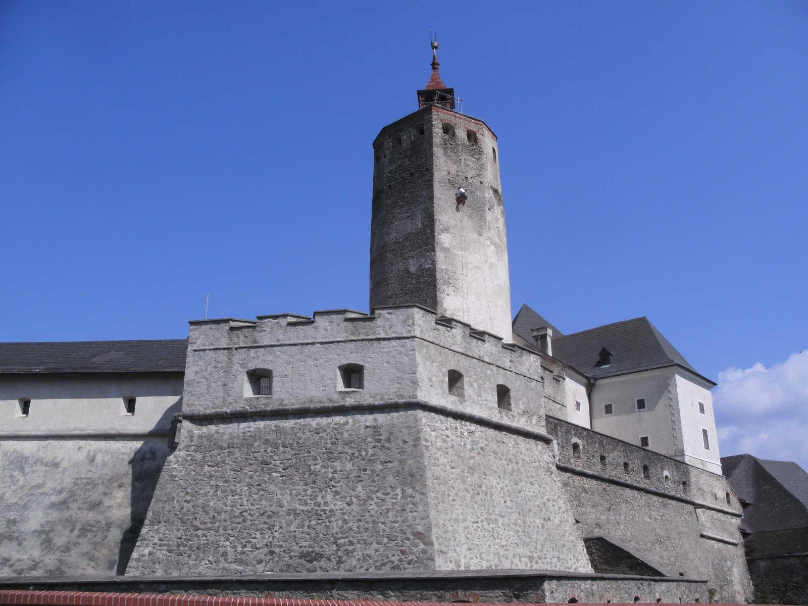 Burg Forchtenstein Mauerwerksicherung 3