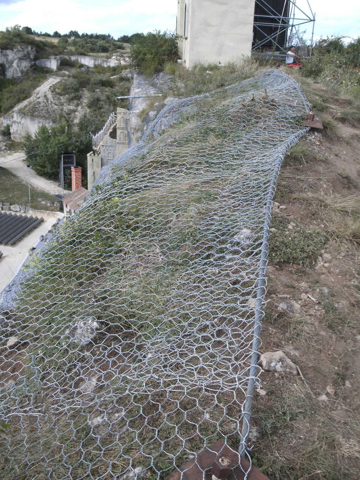 Steinschlagnetz 1