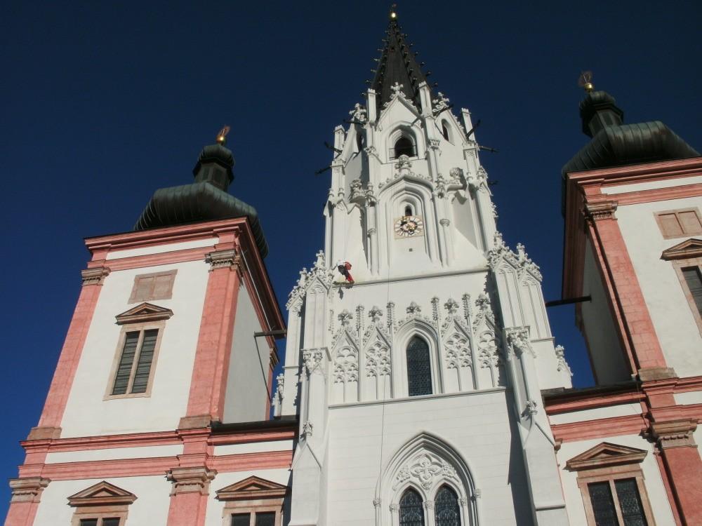 Basilika Mariazell Malerarbeiten