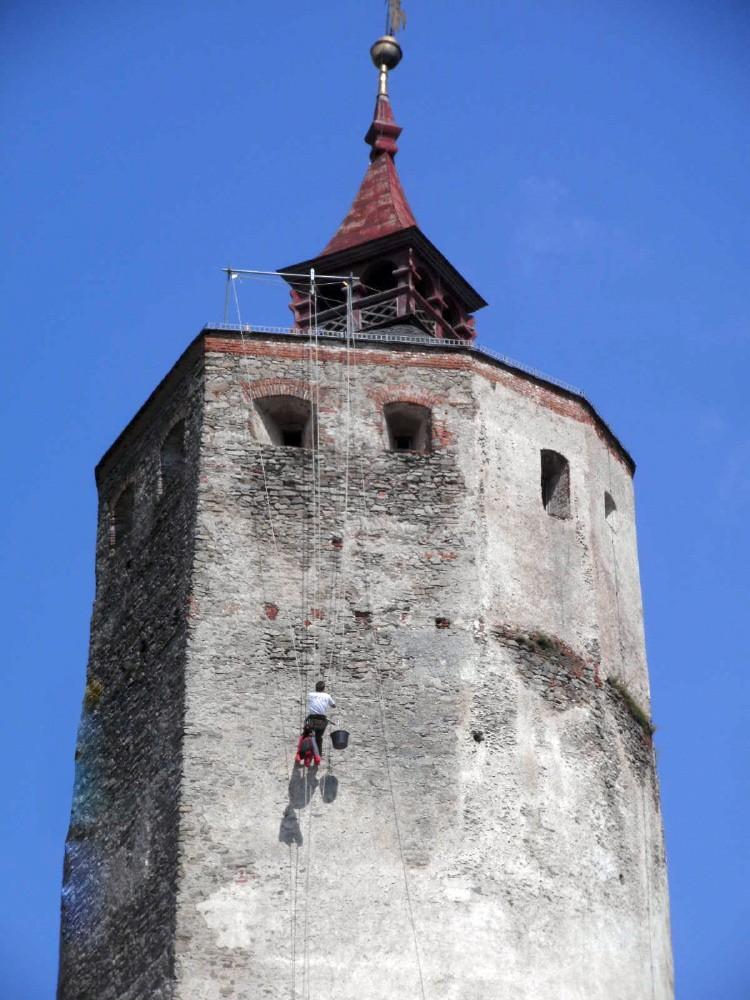 Burg Forchtenstein Mauerwerksicherung 1
