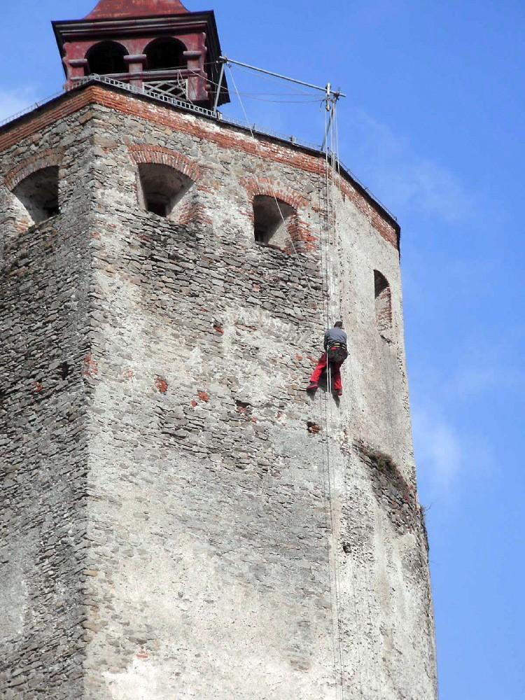 Burg Forchtenstein Mauerwerksicherung 2