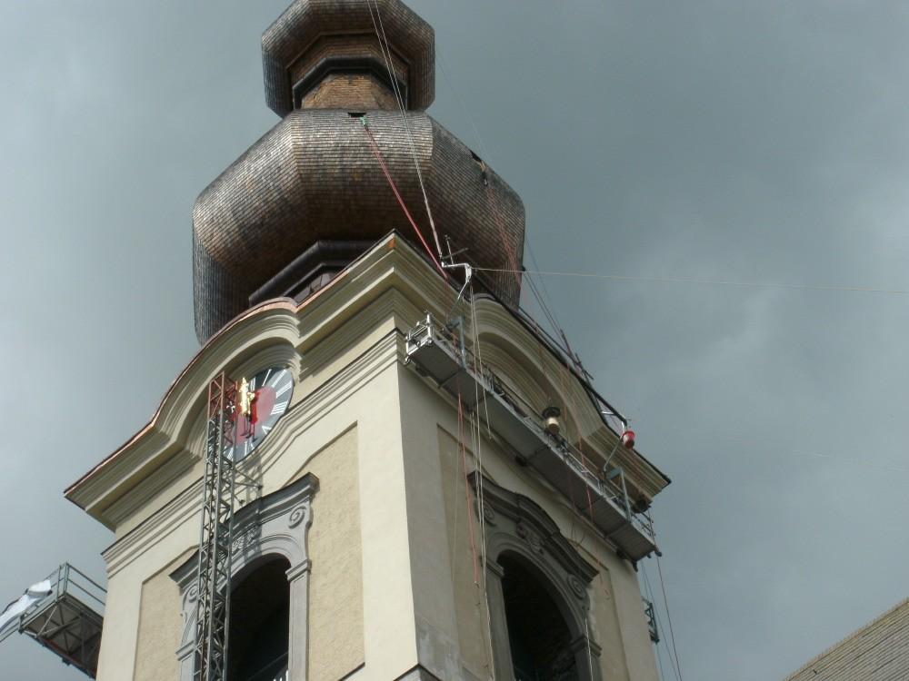 kath. Pfarrkirche Vöcklamarkt Fassadensanierung
