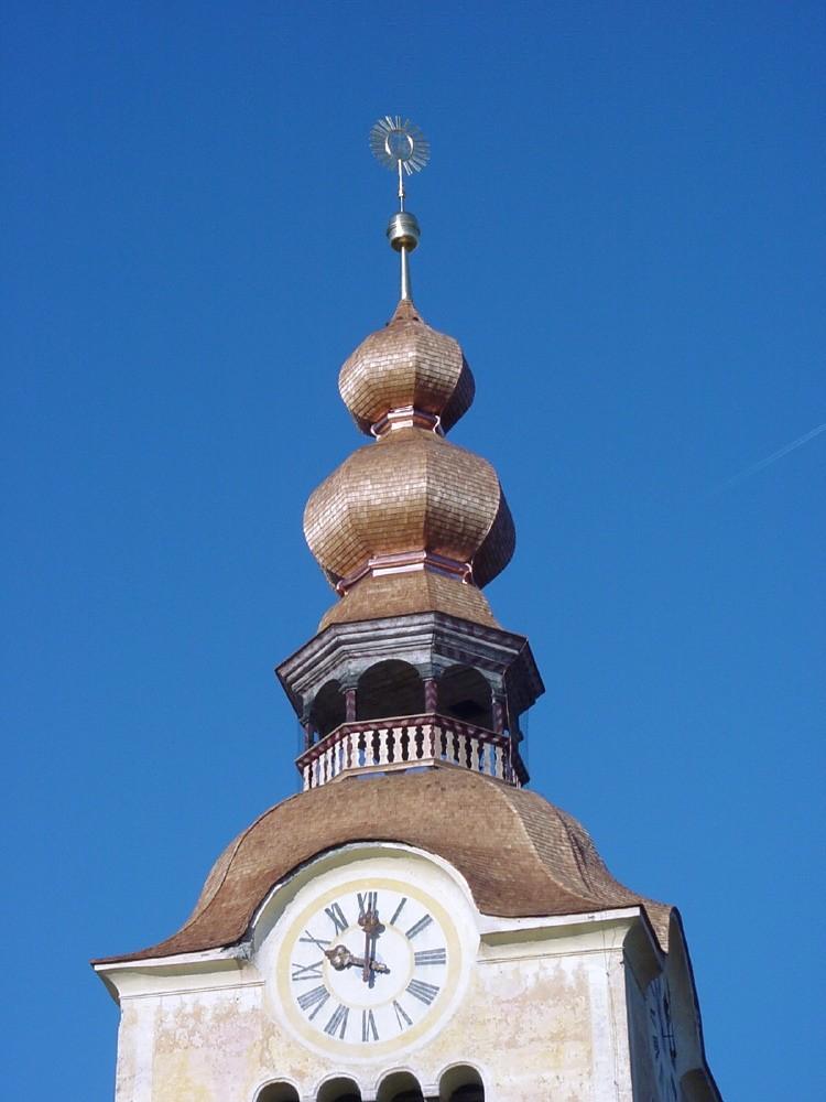 kath. Pfarrkirche St. Marein Holzschindeleindeckung