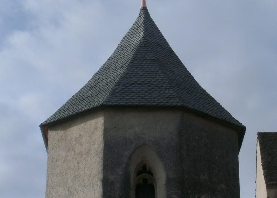 Filialkirche Magdalensberg Natursteineindeckung