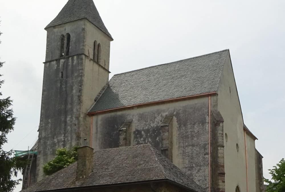 Neueindeckung Filialkirche Magdalensberg