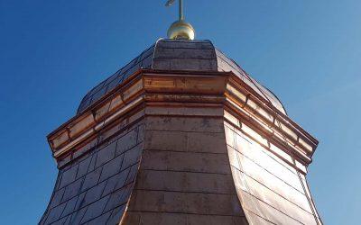 Neueindeckung Ignatiuskirche Alter Dom Linz Nordturm