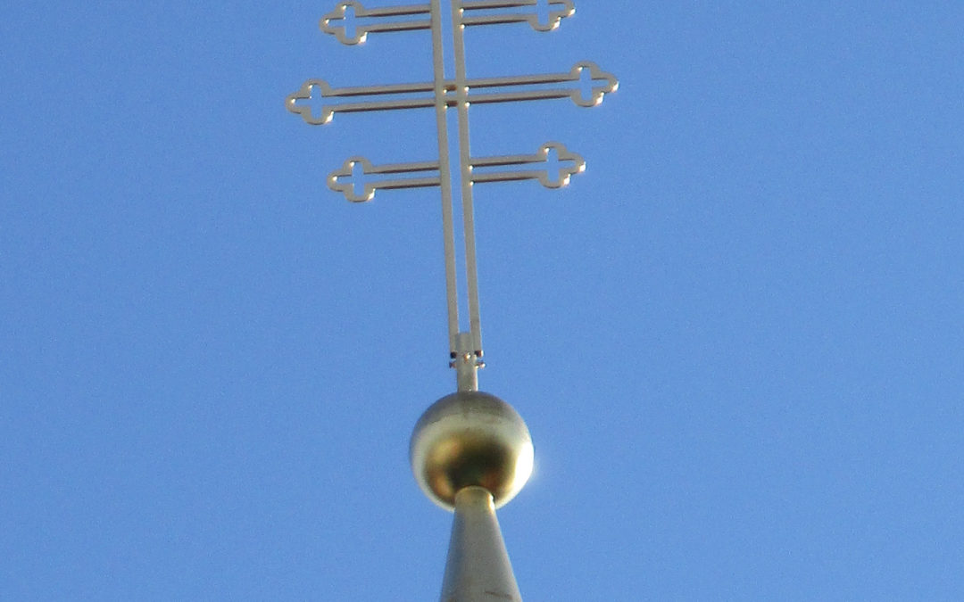 Neuer Turmschmuck für das Kapuzinerkloster Leibnitz