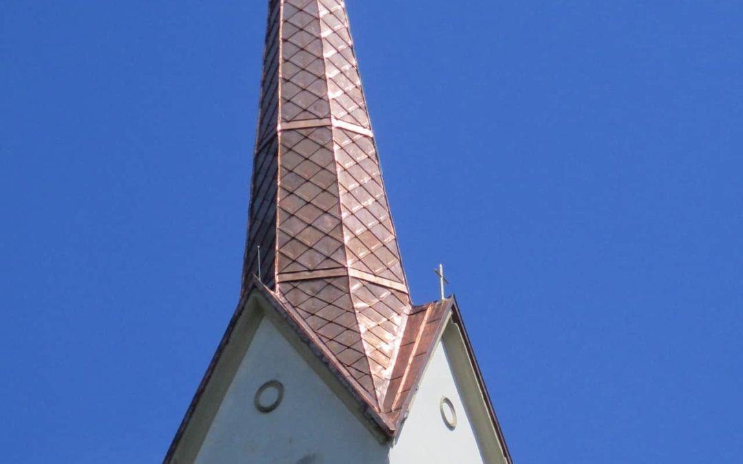 Neueindeckung Filialkirche Siegelsdorf