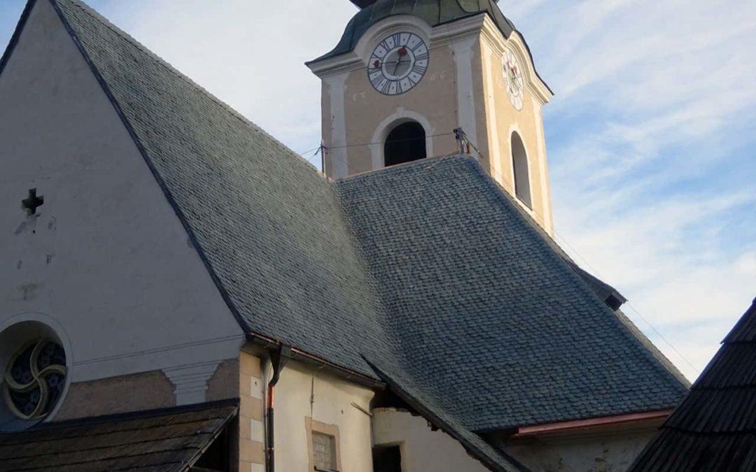 Neueindeckung Kath. Pfarrkirche St. Stefan am Krappfeld