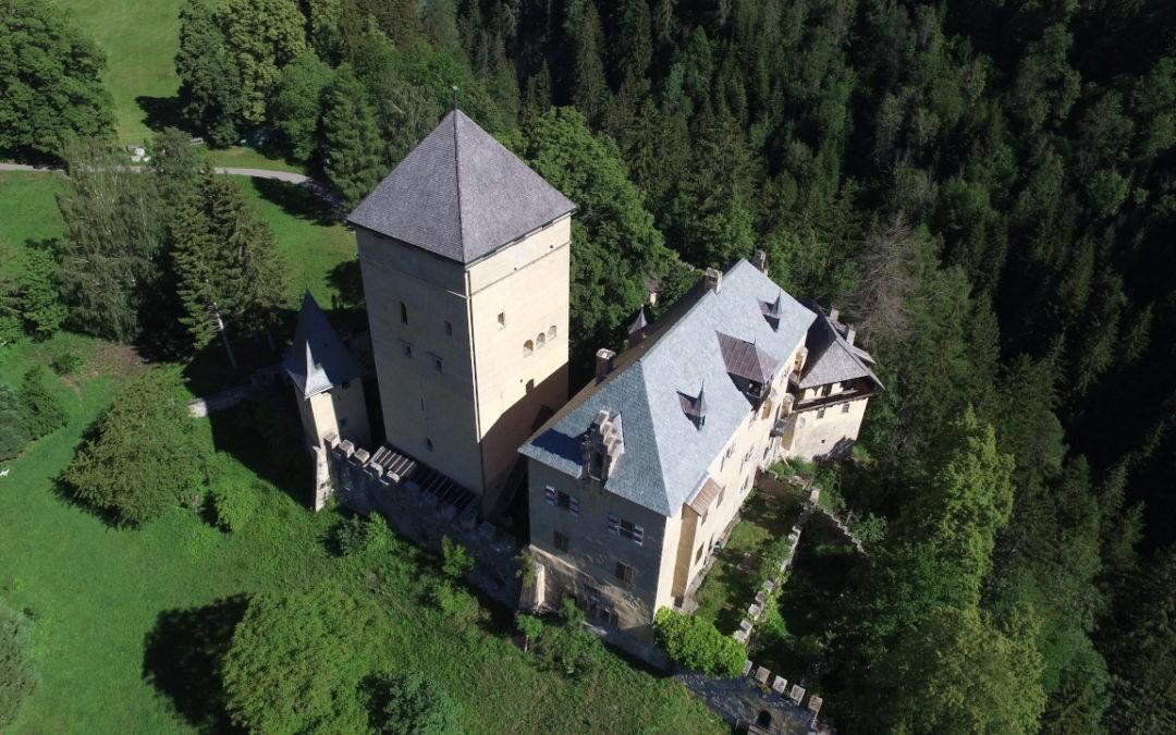Burg Groppenstein Drohnenaufnahmen