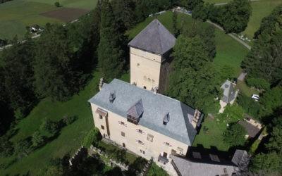 Neueindeckung Burg Groppenstein