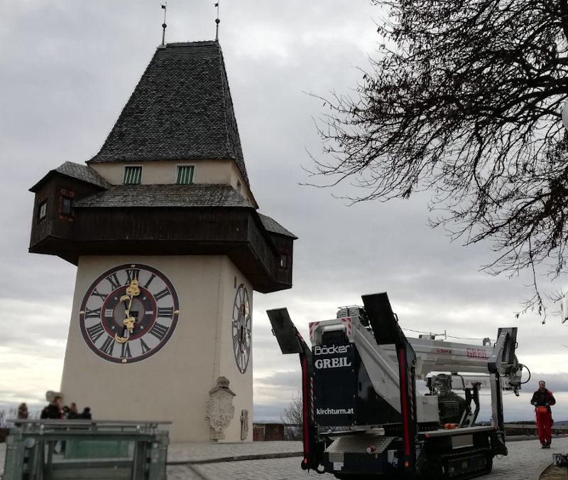Schlossberg Museum Graz Fassaden-Mauerwerksanierung