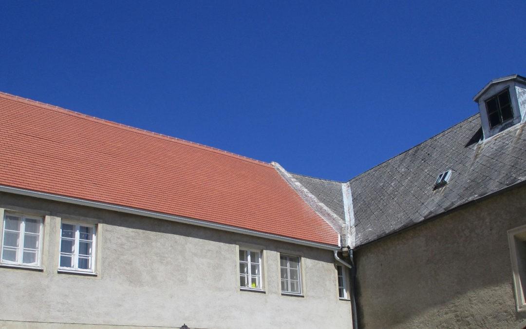 Neueindeckung Schloss Rohrau 4. Etappe