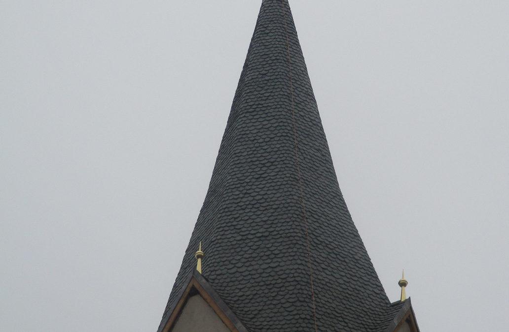 Neueindeckung kath. Pfarrkirche Haimburg