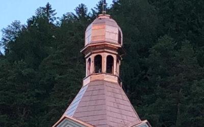 Neueindeckung Turm kath. Pfarrkirche Oberdrauburg