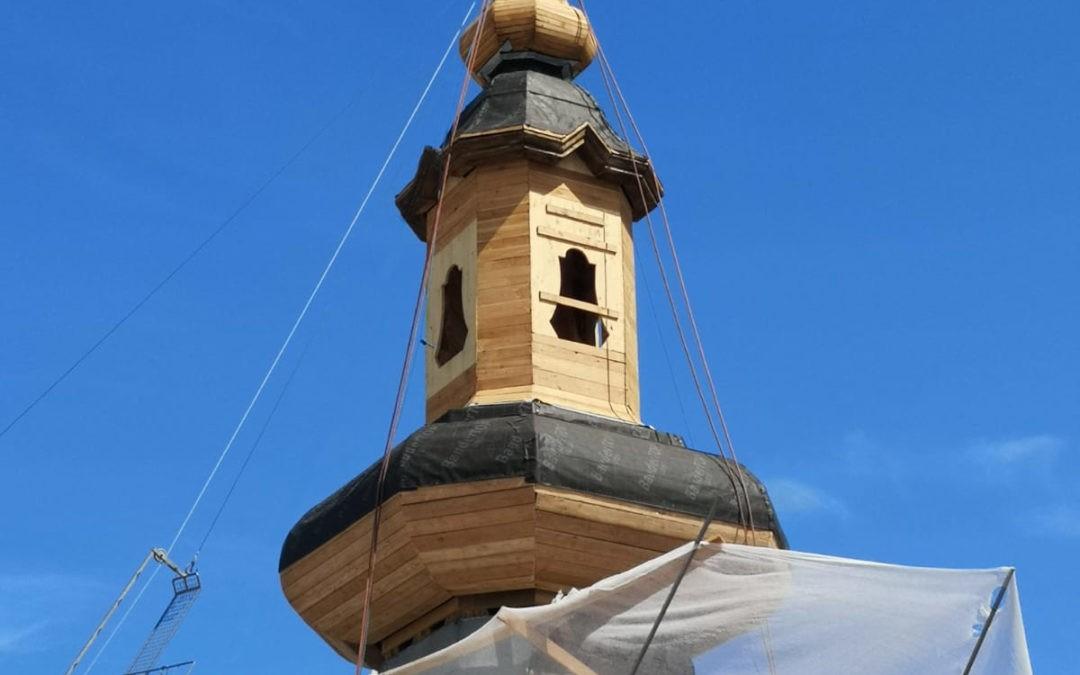 Neueindeckung Turm kath. Pfarrkirche Heiliger Florian